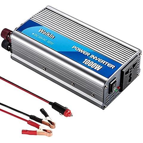 1000W Power Inverter Converter Convertisseur de tension Convertisseur DC 12V sur AC 220V