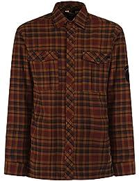 Regatta Mens Tasman Check Pattern Fleece Lined Cotton Shirt