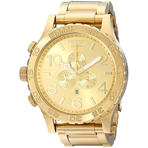 nixon-51-30-chrono-a083502-00-reloj-para-hombres-correa-de-acero-inoxidable-chapado-color-dorado