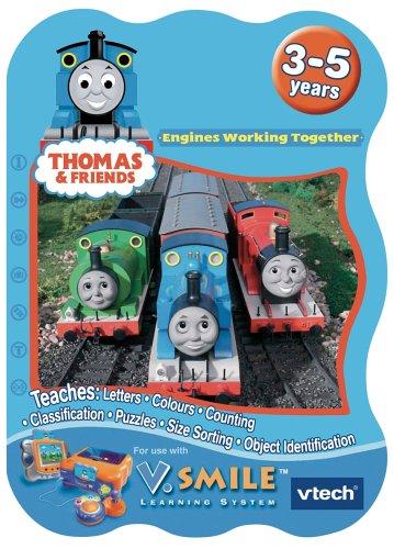 VTech VSmile Thomas & Friends Motoren Arbeiten Learning Game