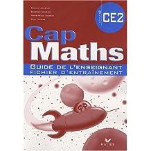 Cap Maths CE2 : Guide de l'enseignant fichier d'entraînement