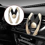 Sedeta® Multifunktionale Armaturenbrett Handy Halter GPS-Halterung Gold Cradle für das beste Geschenk des Fahrers