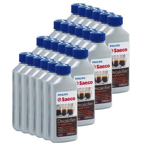 Saeco Decalcificante concentrato per macchine da caffè /espresso, 250ml, 24 Confezioni