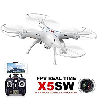 Syma X5SW 4CH 6-axis Gyro RC RTF Wifi Quadcopter with 0.3MP Camera by Syma
