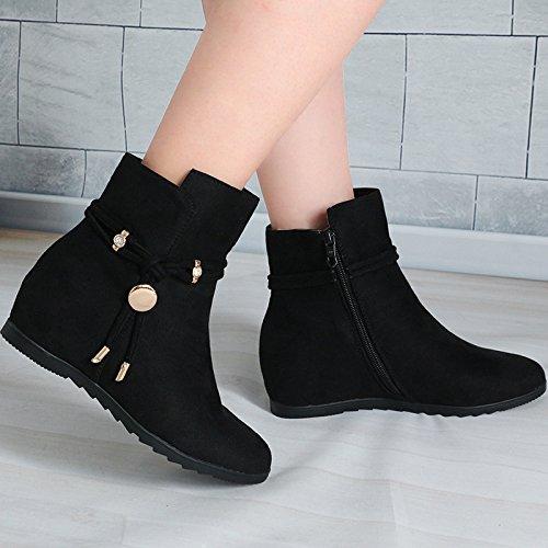 FLYRCX Martin bottes à chaud épais et des bottes pour dames en automne et hiver,40,B