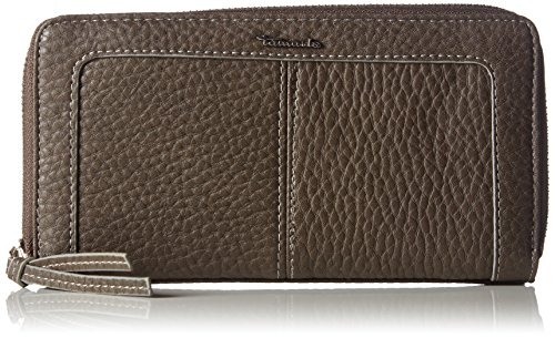 Tamaris LOTTA Big Zip around Wallet 7016152-450 Damen Geldbörsen 19x10x5 cm (B x H x T), Braun (fango) (Wallet Damen Zehn Zip-around)