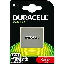 Duracell DRC4L - Batería para cámara digital 3.7 V, 720 mAh (reemplaza batería original de Canon NB-4L)