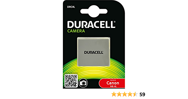 Duracell Rechargeable Drc4l Battery For Canon Nb 4l Elektronik