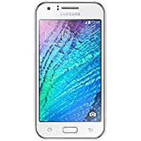 Samsung Galaxy J1 Smartphone (4,3 Zoll (10,9 cm) Touch-Display, 4 GB Speicher, Android 4.4) weiß