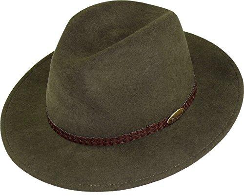 rollbarer Hut in 3 Farben, Kopfgroesse: 57, Schlamm
