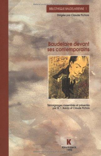 Baudelaire devant ses contemporains