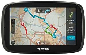 TomTom GO 50 Satelliten-Navigationsgerät mit aktuellen Lifetime-Maps von Westeuropa und Verkehrsinformationen, 15,2cm (6Zoll)