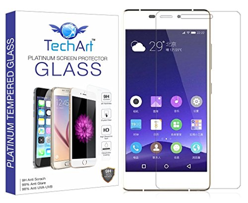 TechArt 2.5D Ultra Thin UNBREAKABLE FLEXIBLE Tempered Glass Screen Protector for Gionee Elife S7  available at amazon for Rs.189