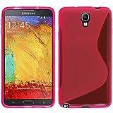 VCOMP Custodia Astuccio Cover Morbida Silicone Gel, Motivo: S-Line per Samsung Galaxy Note 3Neo/Lite Duos 3G LTE SM-N750SM-N7505SM-N7502
