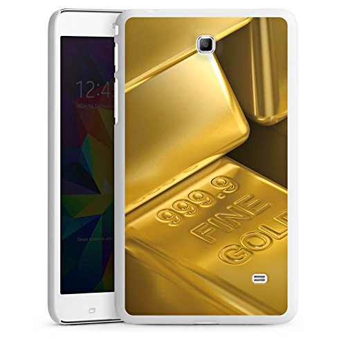 DeinDesign Samsung Galaxy Tab 4 7.0 Hülle Schutz Hard Case Cover Goldbarren Gold Barren