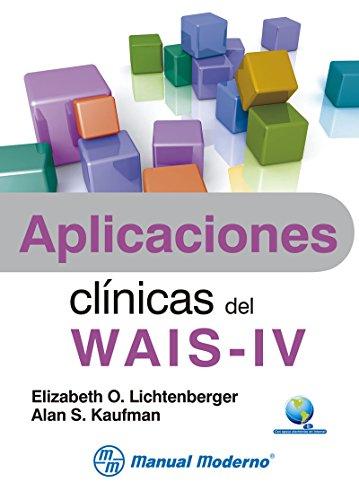 Libro Aplicaciones clínicas del WAIS-IV