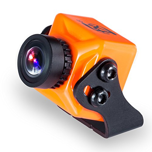 FXT FPV Kamera 4: 3 1000TVL Super WDR Integrierte OSD FOV 145 ° Mini Kamera für FPV RCing Drone T71 (Orange) Mini-board-kamera