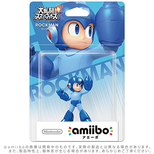 Nintendo Mega Man amiibo Japan Import
