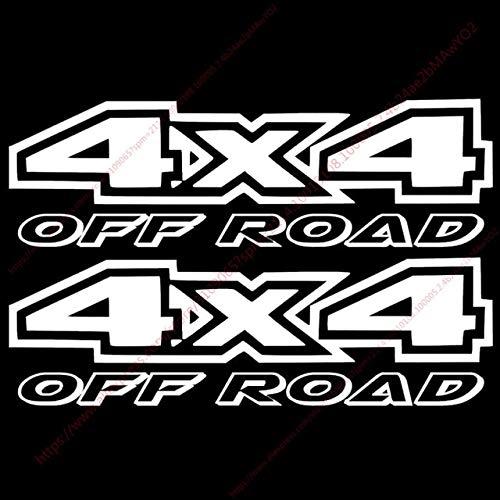 HANO 4x4 2pcs 8x28cmTrail Calificación 4WD Puerta