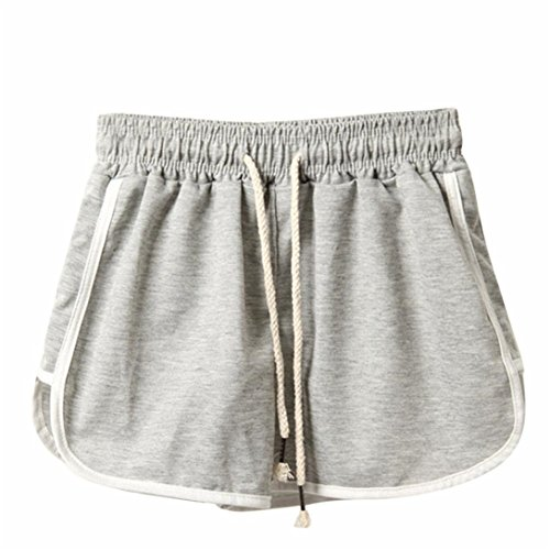 Pantaloncini DonnaKword Pantaloncini da Spiaggia per Donna Estate Pantaloni Corti Sportivi da Allenamento per Il Fitness