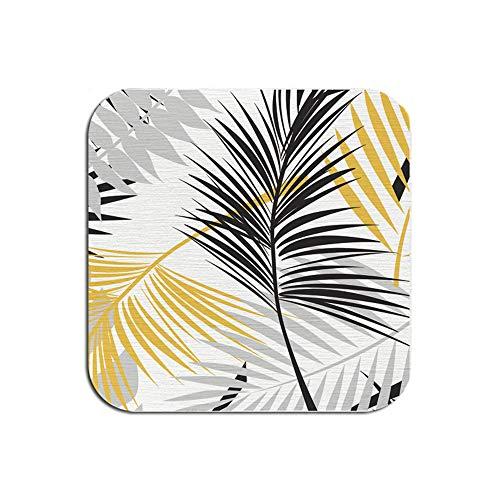 ZCHPDD Motif De Couleur De La Boue De La Diatomée Home Coaster Anti-Brûlure Pattern 04 10 * 10 * 0.9Cm*2Pcs -