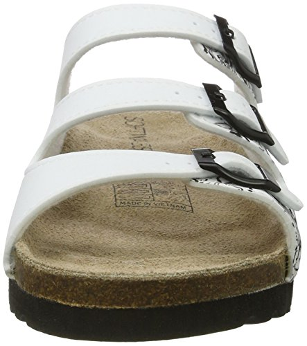 Softwaves 275 049, Mules Femme Weiß (WHITE)