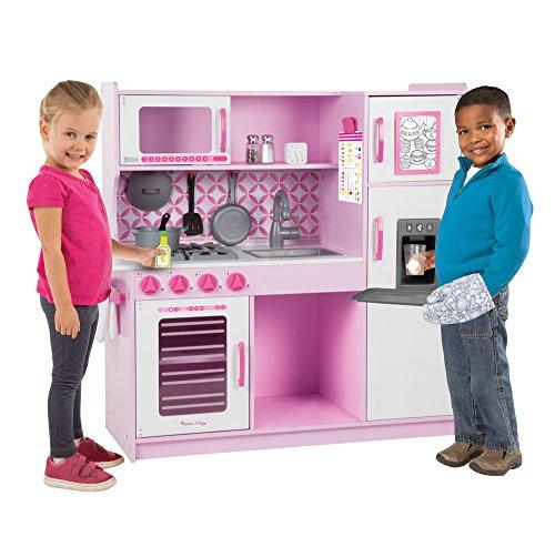 Melissa & Doug Cupcake Chef's Kitchen - Pink Color Rosa, Blanco 14002