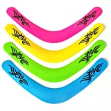 40cm Neon Colour Boomerang Toy - Sold Individually in Assorted Colour
