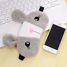 Imported And New Everperfect Pink coloured Relaxing Cooling Cute Rabbit Sleeping Eye Mask