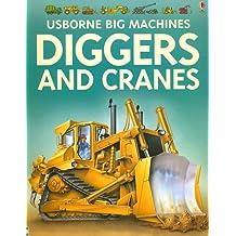 Diggers and Cranes (Usborne Big Machines)