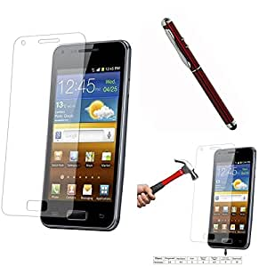 Qualitas Pack of 2 Tempered Glass for Samsung Galaxy J1 Ace J110H + 4in1 Laser Torch Stylus Pen