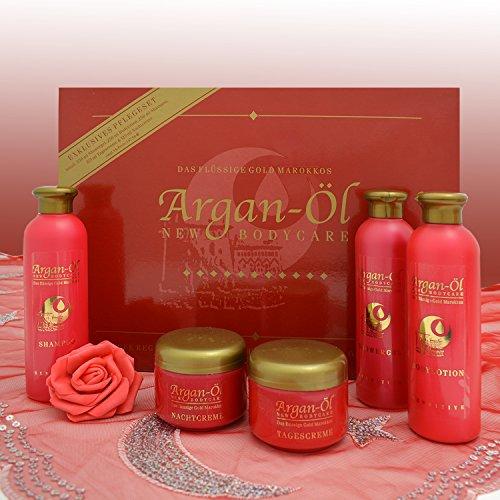 Pflegeset - Argan Öl Set - Pflegeprodukte Geschenkbox