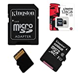 Acce2s - Carte Mémoire Micro SD 128 Go Classe 10 pour Huawei P30 Lite - P20 Lite - P10+ - P10 Lite - P10 - P8 Lite 2017 - P9 Plus...