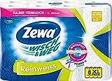Zewa Wisch&Weg Reinweiss Küchenrolle mit Power-X-Struktur, 8 Stück