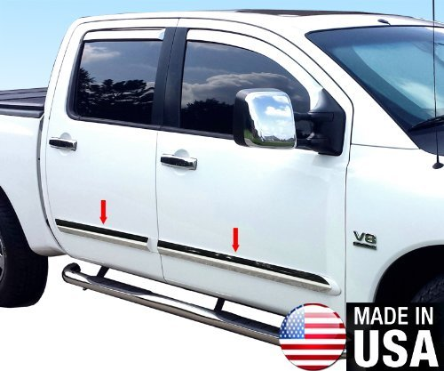 made-in-usa-04-2015-nissan-titan-crew-cab-rocker-panel-chrome-stainless-steel-body-side-moulding-mol