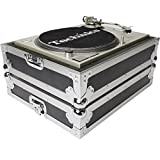 MULTI FORMAT TURNTABLE CASE FLIGHTCASE PER GIRADISCHI COME TECHNICS SL-1200/1210 O LATRI DI DIMENSIONI SIMILI