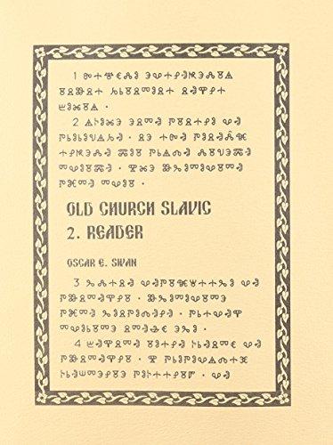 Old Church Slavic Reader: 2