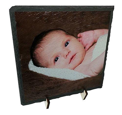 GeschenkIdeen.Haus - Schieferplatte mit Fotodruck - persönliches Bild auf Schiefer gedruckt