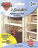Zig Zag 602 il Salva Abiti Trappole per Tarme dei Tessuti, Bianco, 0.7 x 0.7 x 12.5 cm