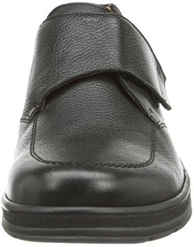 Ganter  HUGO, Weite H, pantoufles homme Beige - Beige (schwarz 0100)