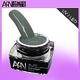 UV- und LED Gel Colorgel Olive Grey 5ml Nr. 221 gut deckendes Farbgel.