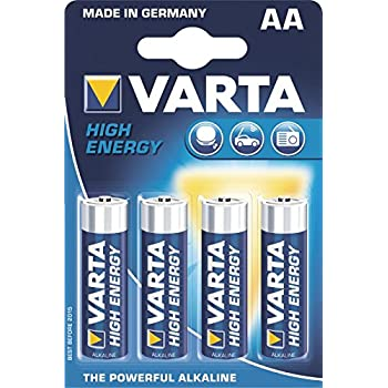 varta high energy alkaline batterie aa mignon 4er pack elektronik. Black Bedroom Furniture Sets. Home Design Ideas