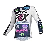 Maillot Cross FOX 180 Czar Light Grey 19