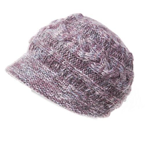 Chapeaux femmes/Chapeau tissé à la main/Chapeau en tricot polaire matelassée/Mesdames laine Cap/Chapeau de seau E