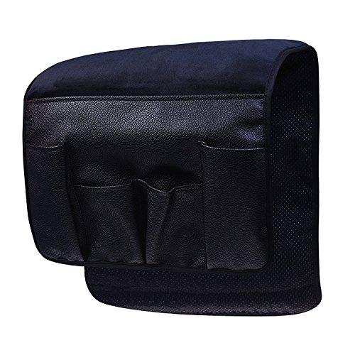 vimmor terciopelo antideslizante Silicne sofá sofá silla reposabrazos suave Caddy organizador soporte para mando a distancia, teléfonos móviles, libros, revistas y lápiz