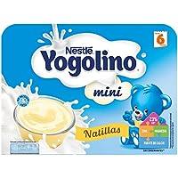 NESTLÉ YOGOLINO Mini, Natillas, para bebés a partir de 6 meses