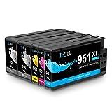 lxtek kompatibel HP 950X L 951X L HP 950951XL Hohe Kapazität Tintenpatronen (5) Pack