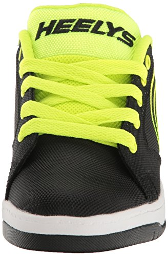 Heelys Propel 2.0, Sneakers basses garçon Noir (Black / Bright Yellow / Ballistic)