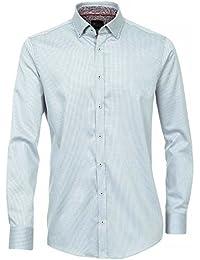 Venti Herren Businesshemd 162542900 tailliert 100% Baumwolle - Slim Fit