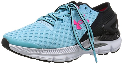 Under Armour Ua W Speedform Gemini 2, Chaussures de Sport Femme Sky / Noir
